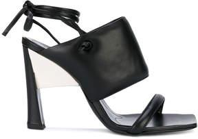 Marni wide strap stiletto sandals