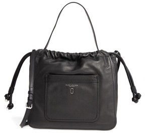 Marc Jacobs Tied Up Leather Hobo - Black - BLACK - STYLE