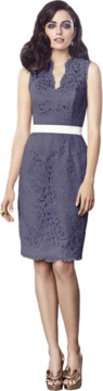 Dessy Collection 2912BL Dress in Amethyst
