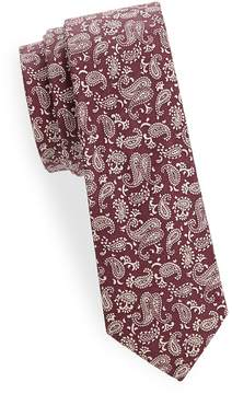 Joe's Jeans Collection Men's Paisley Slim Cotton Tie