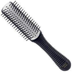 Kent Salon Removable Rubber Pad 5 Row Ball Tip Pin Handbag Size Hairbrush - KS38