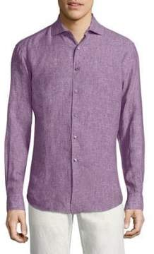 Vilebrequin Linen Button-Down Shirt