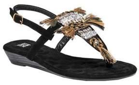 Muk Luks Women's Lucille Thong Sandal