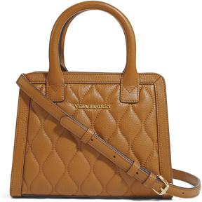 Vera Bradley Cognac Quilted Natalie Crossbody Bag - COGNAC - STYLE