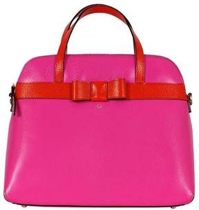 Kate Spade Hot Pink & Red Orange Satchel - PINK - STYLE