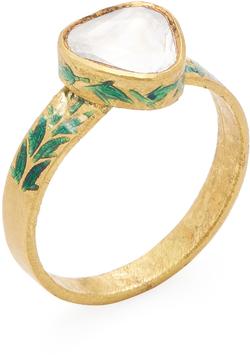 Amrapali Women's 22K Yellow Gold & 0.60 Total Ct. Diamond Ring
