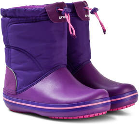 Crocs Amethyst and Ultraviolet Crocband LodgePoint Boots