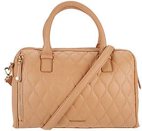 Vera Bradley Quilted Leather Satchel -Marlo - ONE COLOR - STYLE
