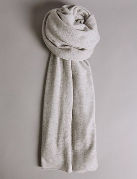 Marks and Spencer Pure Cashmere Textured Scarf