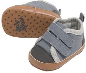 Osh Kosh Baby Boy Blue Low-Top Sneaker Crib Shoes