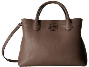Tory Burch McGraw Triple-Compartment Satchel Satchel Handbags - BAGUETTE - STYLE