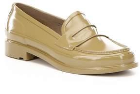 Hunter Womens Original Short Waterproof Penny Loafers
