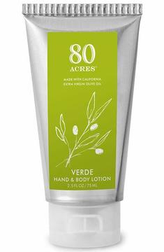 Smallflower Verde Tube Lotion by 80 Acres (2.5oz Lotion)