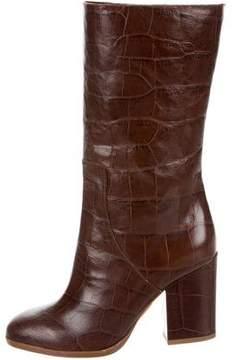 Alexa Wagner Heidi Embossed Boots w/ Tags