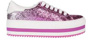 Marc Jacobs Glitter Platform Sneakers