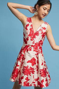 Eva Franco Rose Relief Dress