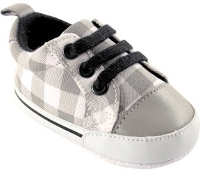 Luvable Friends Baby Boy Basic Canvas Sneakers