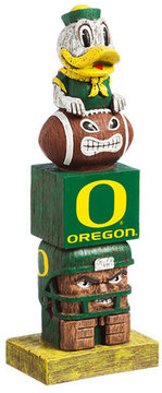 Evergreen Oregon Ducks Tiki Totem