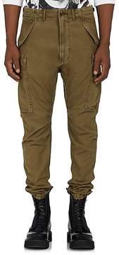 R 13 Men's Drop-Rise Cotton Canvas Cargo Pants