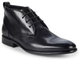 John Varvatos Madison Leather Chukka Boots