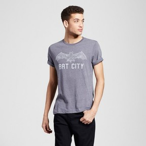 Awake Men's Texas Austin Bat City T-Shirt - Charcoal Gray
