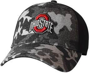 NCAA Adult Ohio State Buckeyes Hide and Sparkle Sublimated Camo Adjustable Cap