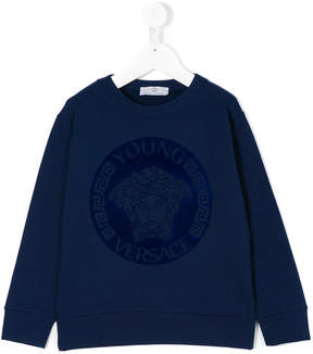 Versace Medusa head jumper