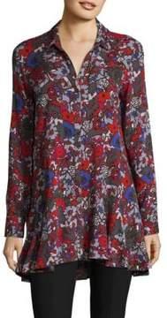 Context Floral Button-Down Shirt