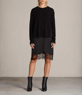 AllSaints Eloise Long Sleeve Dress