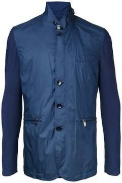 Kent & Curwen contrast sleeve jacket