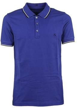 Fay Men's Npmb236140sit0u606 Blue Cotton Polo Shirt.