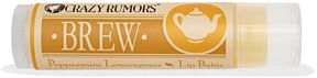 Peppermint Lemongrass Lip Balm by Crazy Rumors (0.15oz Lip Balm)