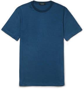 Ermenegildo Zegna Slub Wool-Jersey T-Shirt