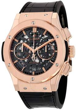 Hublot Classic Fusion Chronograph Black Dial Men's Watch 525OX0180LR