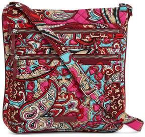 Vera Bradley Iconic Triple-Zip Hipster Cross-Body Bag
