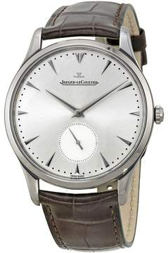 Jaeger-LeCoultre Jaeger Lecoultre Master Grand Ultra Thin Leather Strap Automatic Men's Watch