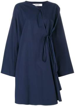 Chalayan loose wrap dress