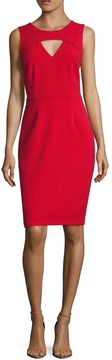 Ava & Aiden Women's Cut Out Sheath Dress