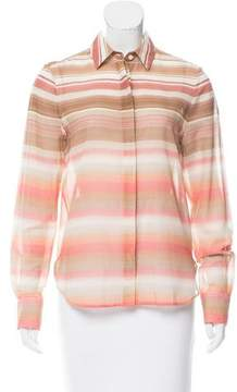 Brock Collection Baylee Striped Blouse w/ Tags