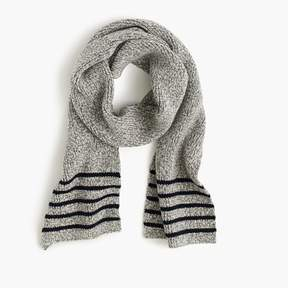J.Crew Boys' striped cotton scarf