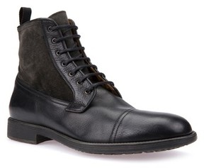 Geox Men's Jaylon 12 Cap-Toe Boot
