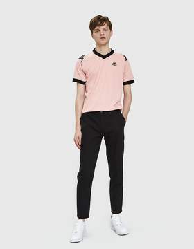 Kappa Authentic Ramzy Futbol Jersey in Pink