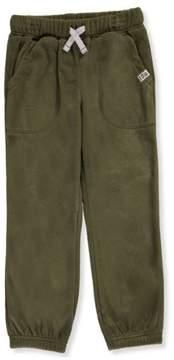 Carter's Little Boys' Microfleece Joggers (Sizes 4 - 7) - olive, 5