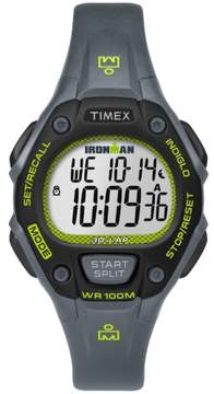 Timex TW5M14000 Ironman Classic 30 Mid-Size Women's Watch Grey 34mm Resin