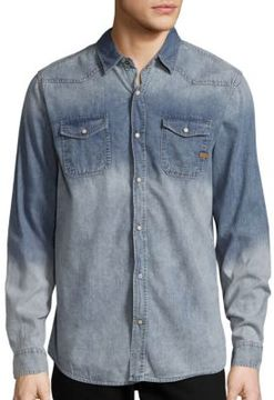 Buffalo David Bitton Shervin Long-Sleeve Denim Shirt