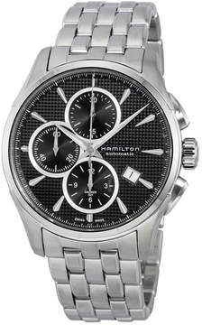 Hamilton Jazzmaster Chronograph Automatic Black Dial Men's Watch