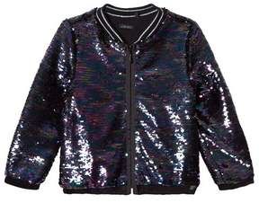 Ikks Multi Sequin Bomber Jacket