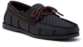 Swims Boat Loafer Woven