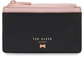 Ted Baker Zip Leather Card Holder