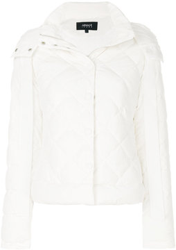 Armani Jeans buttoned puffer jacket